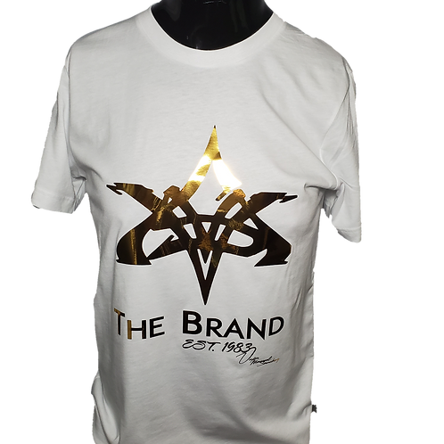 VMS White/Gold T Shirt