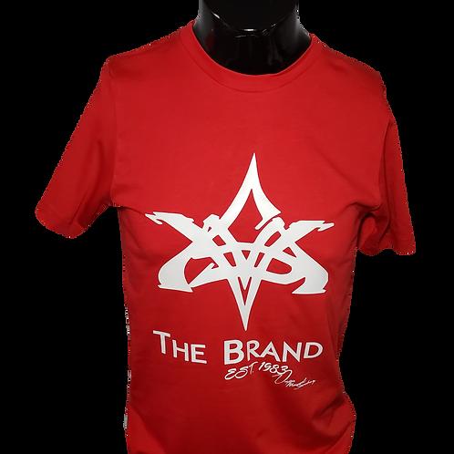 VMS Red/White T Shirt