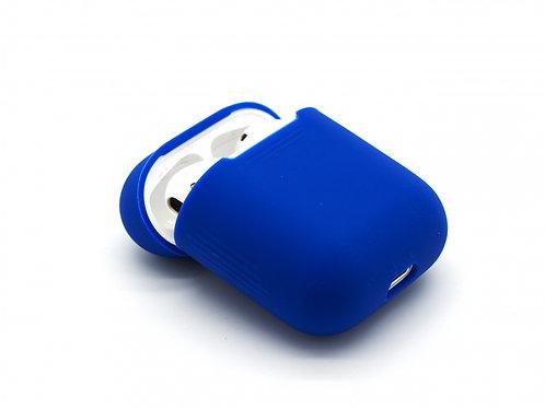 Чехол силиконовый для Apple Airpods синий
