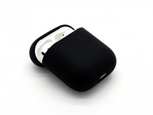 Чехол силиконовый для Apple Airpods черный