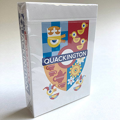 """Clockwork: Quackington"" Deck"