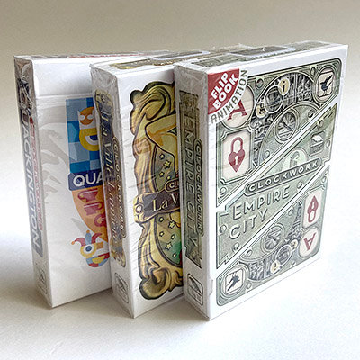 """Clockwork"" Bundle of Decks"