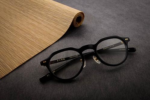 金子眼鏡 KC75 黑 連 1.6 Klar by ZEISS 鏡