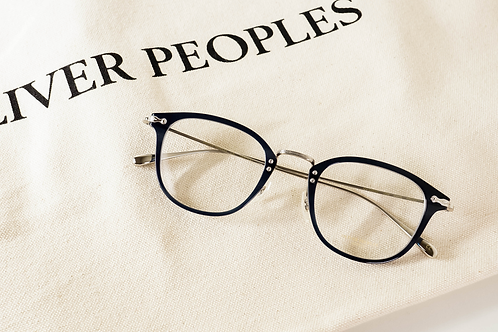 Oliver Peoples Davitt 藍銀 連 1.6/1.67 Klar by ZEISS 鏡片