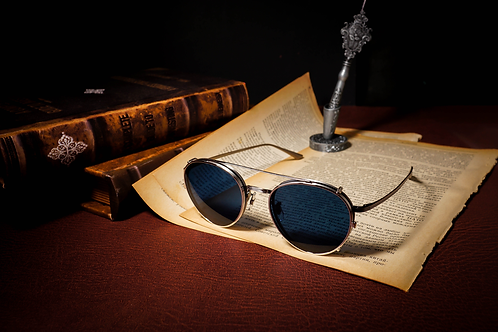 Oliver Peoples x The Row BROWNSTONE 2 with clip連 1.6/1.67 Klar by ZEISS 鏡片