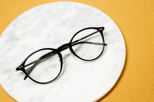 金子眼鏡 KC72 黑 連 1.6 Klar by ZEISS 鏡片