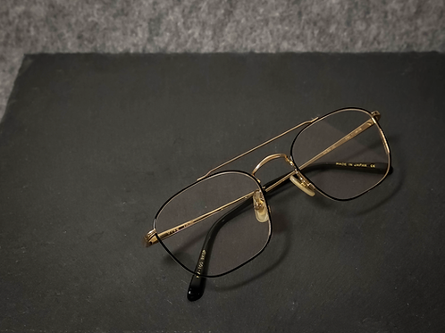 金子眼鏡 KV-100 黑金 連 1.6/1.67 Klar by ZEISS 鏡
