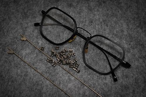 金子眼鏡 KJ52 黑魂 連 1.6 Klar by ZEISS 鏡