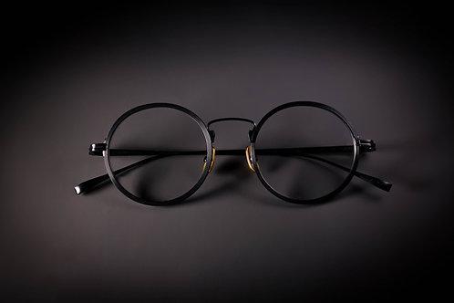 金子眼鏡 KJ 50 黑 連1.6/1.67 Klar by ZEISS 鏡片
