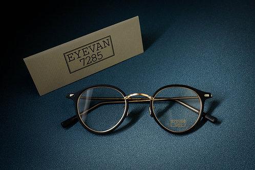 EYEVAN 7285 777 黑金 連1.6 Klar by ZEISS 鏡片