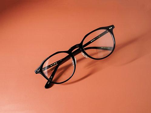金子眼鏡 KC84 黑 連 1.6/1.67 Klar by ZEISS 鏡片