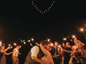 Drone Light Shows - the new trend at weddings