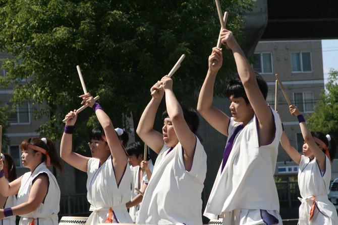社会福祉法人渓仁会手稲つむぎの杜夏祭り