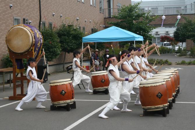 札幌優翔館病院夏祭り