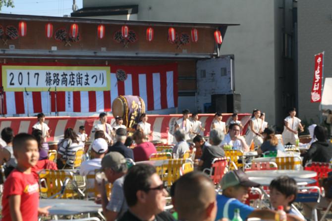 篠路商店街夏祭り