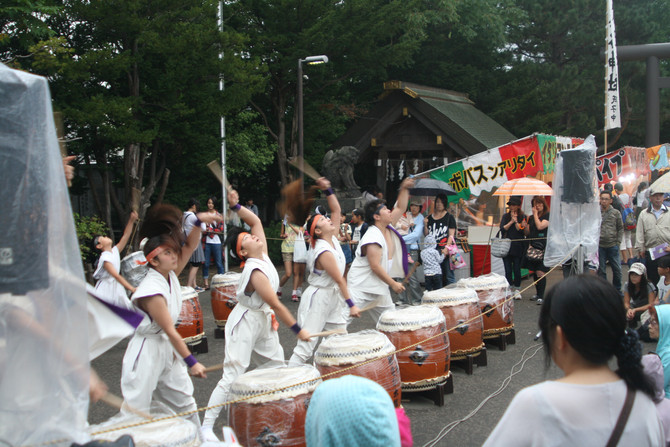 篠路神社祭(震災により中止)