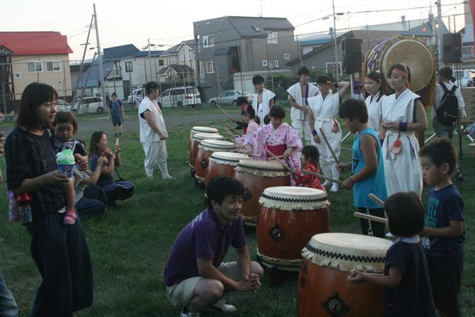 太平第4町内会盆踊り