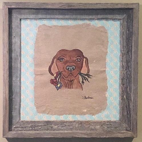Garden Pup Original Artwork