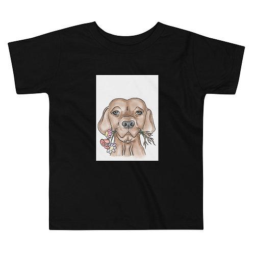 Garden Pup Toddler Short Sleeve Tee