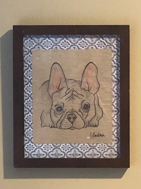 Sweet Frenchie Artwork