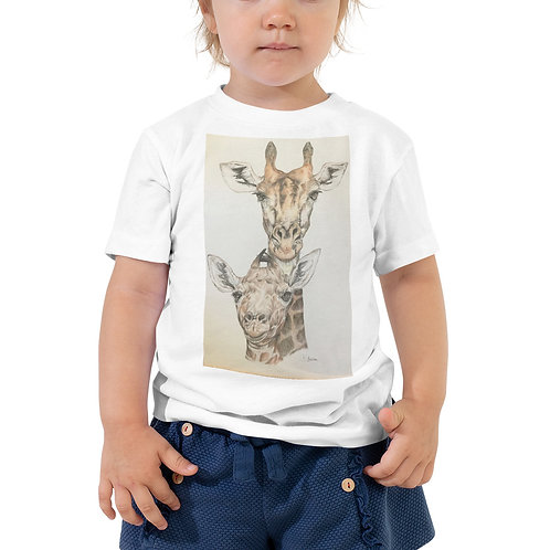 Giraffes Toddler Short Sleeve Tee