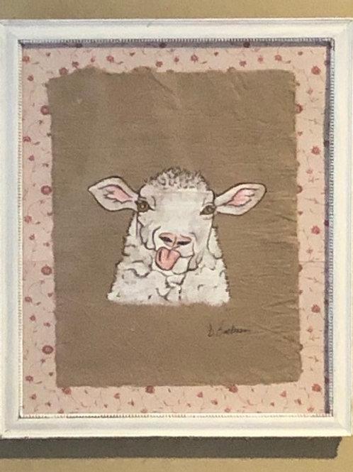 Silly Sheep Original Artwork