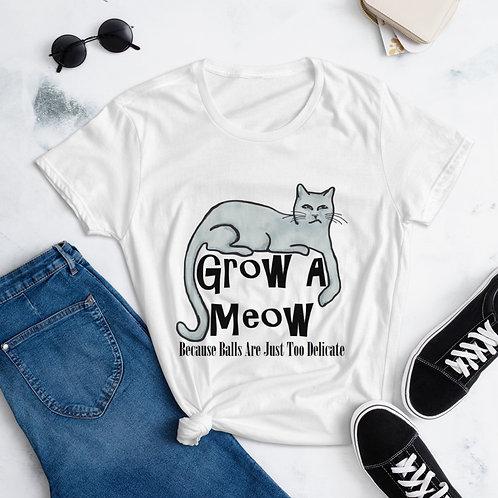 Grow a Meow Women's short sleeve t-shirt
