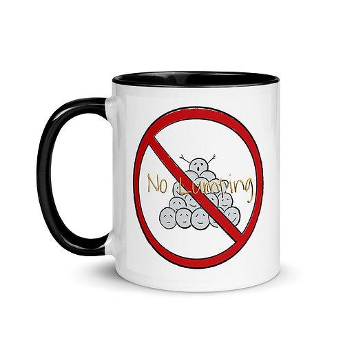 No Lumping Mug with Color Inside