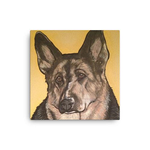 German Shepard Canvas