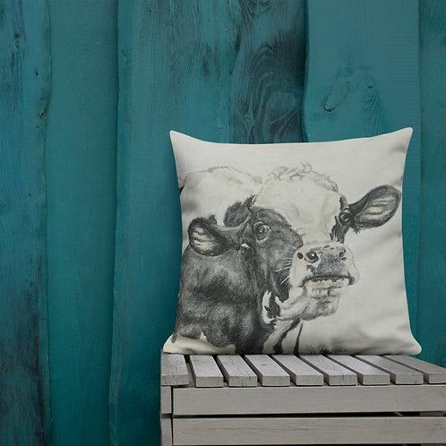 Cow Premium Pillow