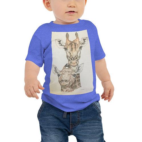 Giraffes Baby Jersey Short Sleeve Tee
