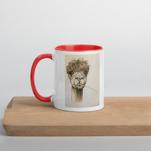 Llama Mug with Color Inside
