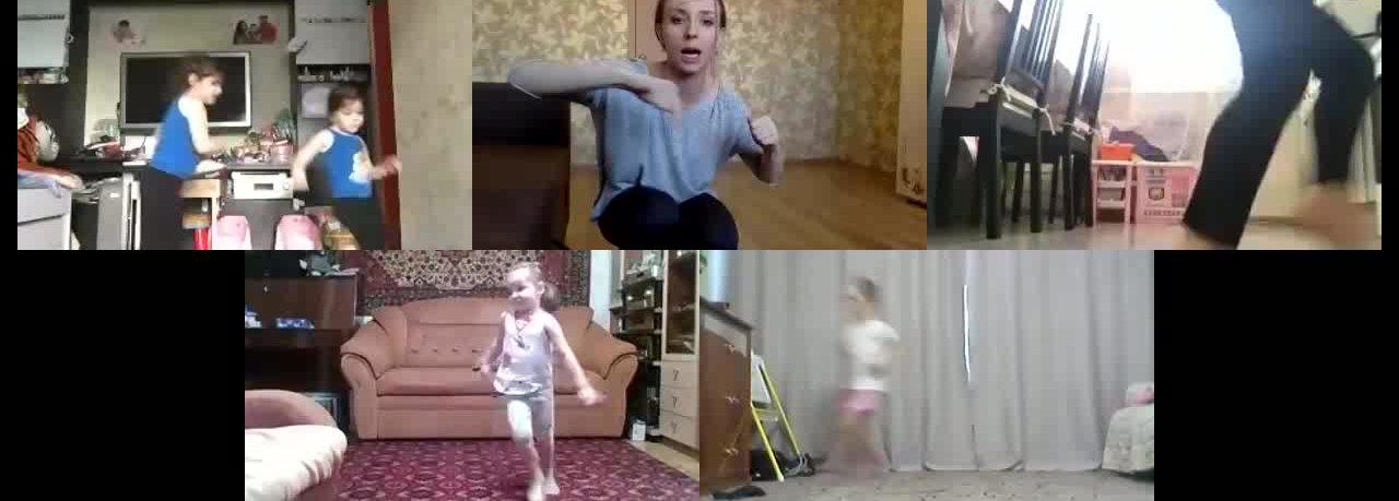 Занятие фитнесом для детей до 7 лет