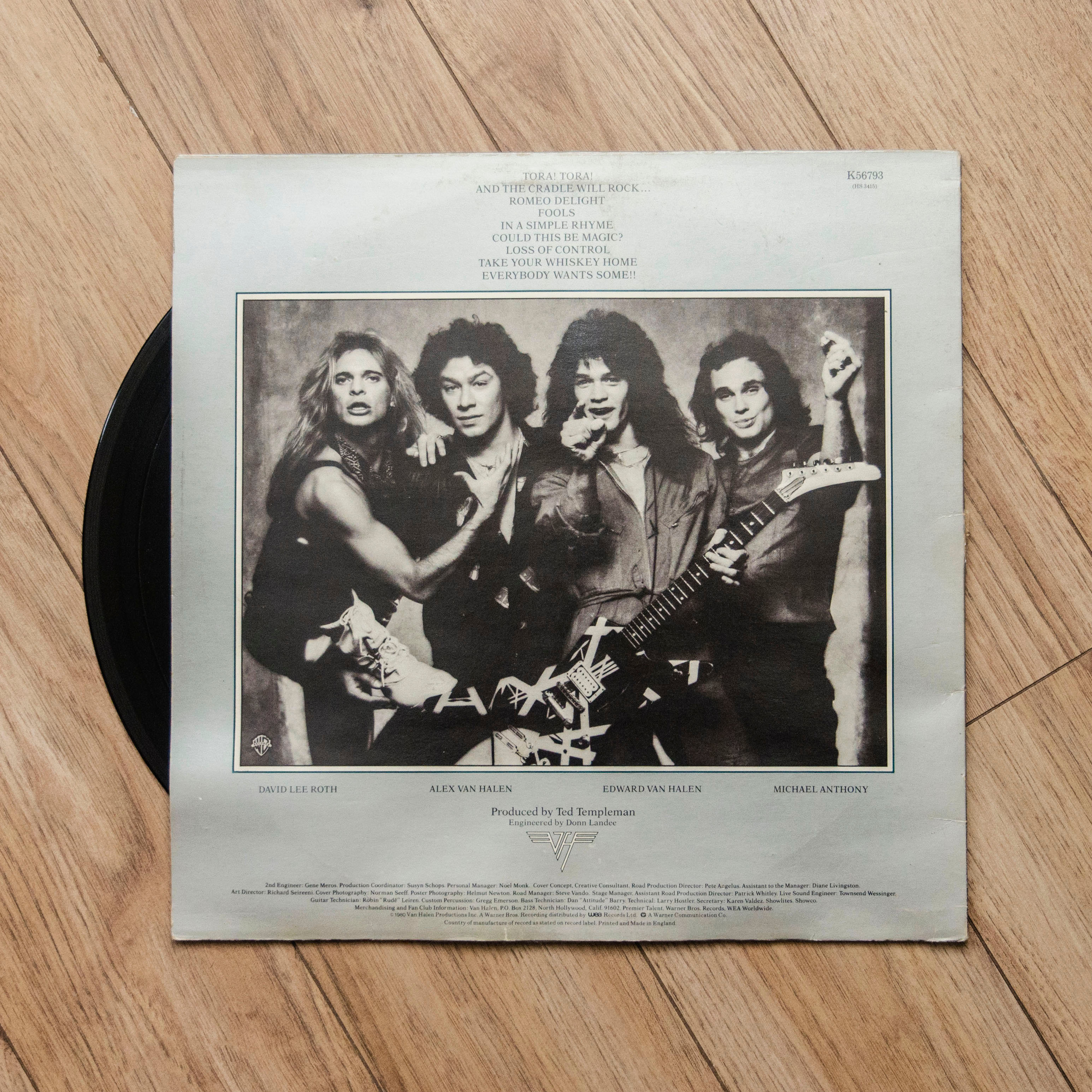 8419dbb3f46  VAN HALEN - Women and Children First  Vinyl Record (1980)