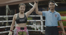 Fang's First Fight at Thaphae Boxing Stadium (Video Production, Videography)