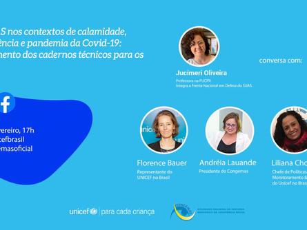 Participe da live do Congemas!