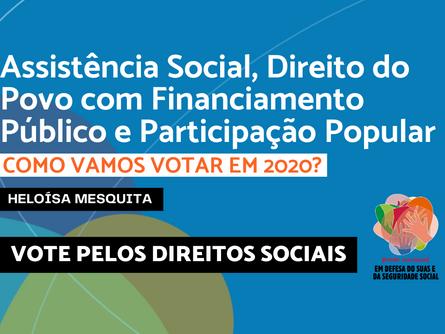 Eleições 2020 - Heloísa Mesquita