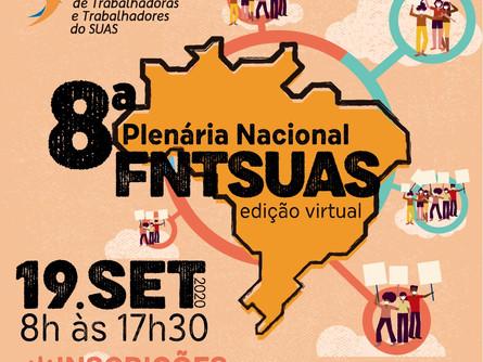 Participe da 8ª Plenária Nacional do FNTSUAS