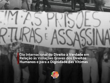 Dia Internacional do Direito à Verdade