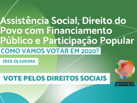 Eleições 2020 - Iris Oliveira