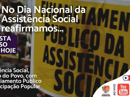 Dia Nacional da Assistência Social