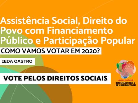 Eleições 2020 - Ieda Castro