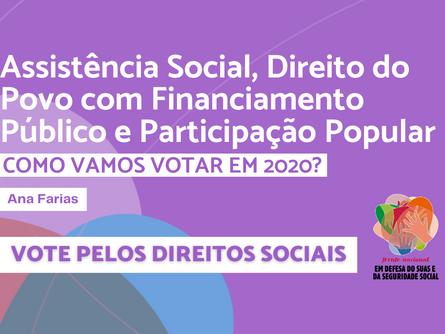 Eleições 2020 - Ana Farias