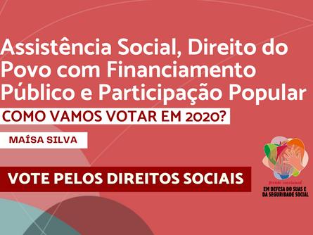 Eleições 2020 - Maísa Silva