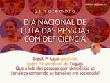 Dia Nacional de Luta das pessoas com deficiência