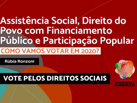 Eleições 2020 - Rúbia Ronzoni