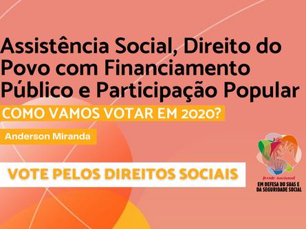 Eleições 2020 - Anderson Miranda
