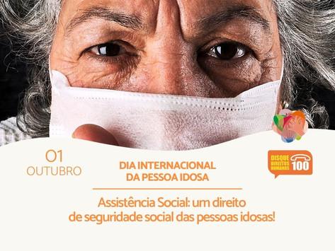 01 de outubro é Dia Internacional das Pessoas Idosas
