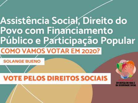 Eleições 2020 - Solange Bueno