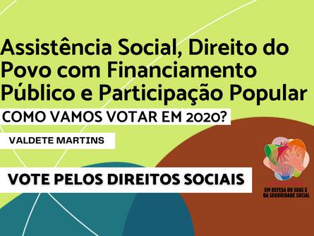 Eleições 2020 - Valdete Martins